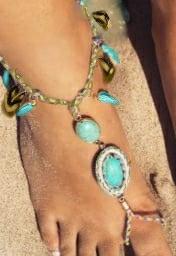 Barefoot sandals 'Azul Beach'