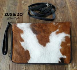 Clutch / tas koeienvacht groot nr 2