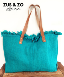 Strandtas 'Seabreeze' turquoise