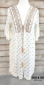Ibiza kimono 'Gold flakes'