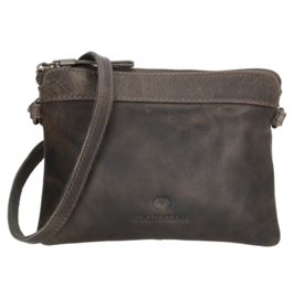 Micmacbags clutch - tasje 'Colorado' grijs