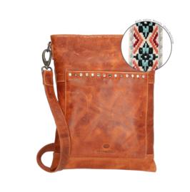 Crossbody bag 'New Navajo' cognac