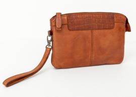 Tasje / clutch Bag2Bag  'Mora' cognac