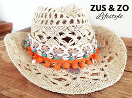 Ibiza accessoire voor hoed