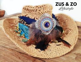 Ibizahoed 'Bleu Cala Bassa'