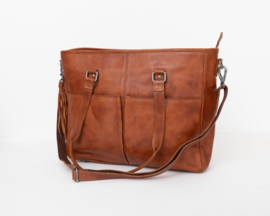 Bag2Bag Laptoptas 'Kelsey' cognac