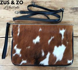 Clutch / tas koeienvacht groot nr 3