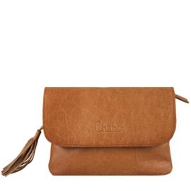 Chabo bag, schouder/riemtasje 'Little Bink' Camel - Cognac