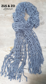Sjaal 'Misty' Bleu