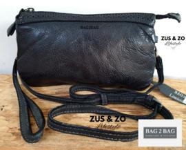 Bag2Bag tas 'Plano' zwart