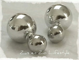 Double Pearl oorbellen