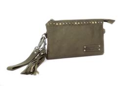 Bag2Bag tas -clutch 'Pedy' olive