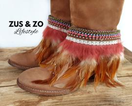 Bootbelts 'Boho Feathers'