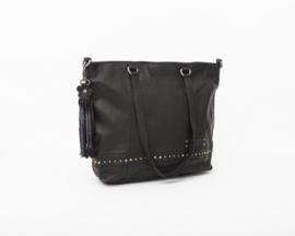 Bag2Bag schoudertas 'Marla' zwart