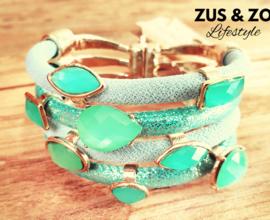 Armband 'Jewels' Minti-green