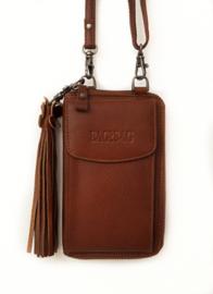 Bag2Bag phonewallet 'Tennessee' cognac