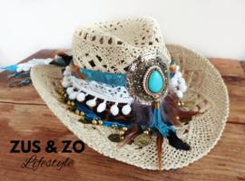 Ibiza hoed 'Beach Queen'