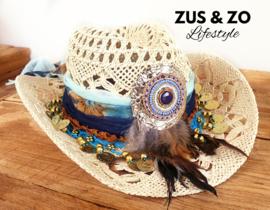 Ibiza hoed 'Eivissa Bleu'