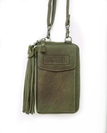 Bag2Bag phonewallet 'Tennessee' olive