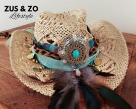Ibiza hoed 'Las Dalias'