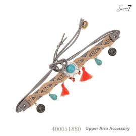 Upper armband 'Grey Naturel'