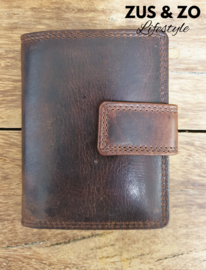 Creditcard wallet dark brown