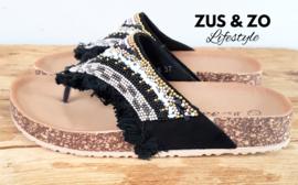 Slipper 'Comfy Ibiza' black