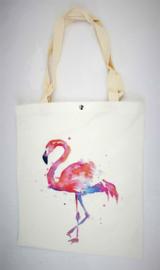 Shopper 'Pink Ibiza flamingo'