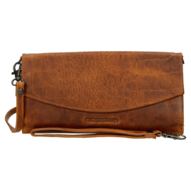 Clutch - wallet - tasje 'Everglades' cognac