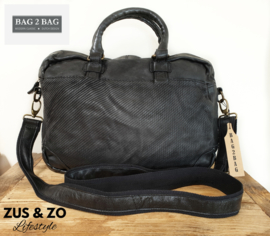 Bag2Bag Laptoptas 'Tanana' Black