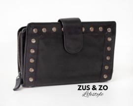 Bag2bag portemonnee 'La Fe' Black