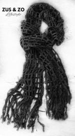 Sjaal 'Misty' zwart