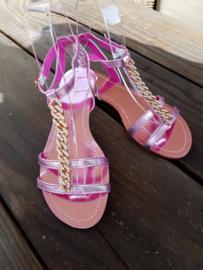 Sandaaltjes 'Pink shine'