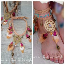 Barefoot sandals 'Ibiza dream'