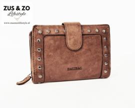 Bag2Bag  portemonnee 'La Fe' Brown