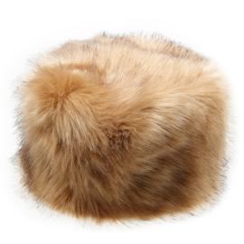 Bontmuts 'Syberia' bruin-beige