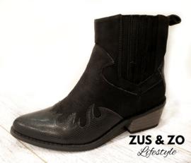 Cowboy boots 'Black beauty'