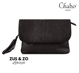 Chabo bag, schouder/riemtasje 'Little Bink' zwart