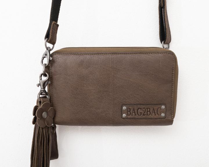 Bag2Bag 'Gibson' tasje / wallet olive