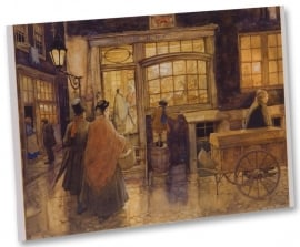 Bakkerij De Wit (Unieke Amsterdam collectie) (ansichtkaart)