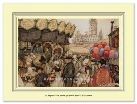 Middelburg Ballonnenverkoper (grootformaat)