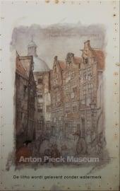 Amsterdam, Zwarte Bijlsteeg (Unieke Amsterdam collectie) (kleinformaat)