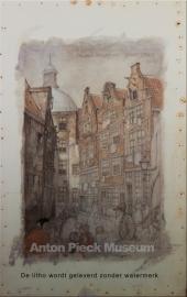 Amsterdam, Zwarte Bijlsteeg (Unieke Amsterdam collectie)