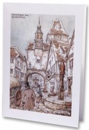 Rothenburg Herinnering (wenskaart)