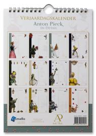 Verjaardagskalender Anton Pieck in detail