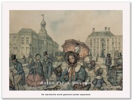 Jonge dame met parasol