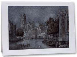 Rotterdam Korenbeurs (wenskaart)