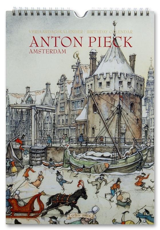 Verjaardagskalender Amsterdam (Unieke Amsterdam collectie)