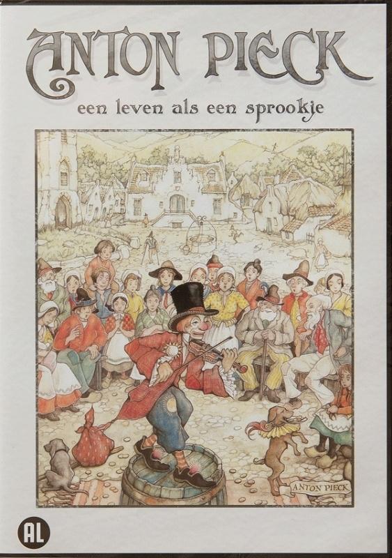 """DVD Anton Pieck """"Een leven als een sprookje"""""""
