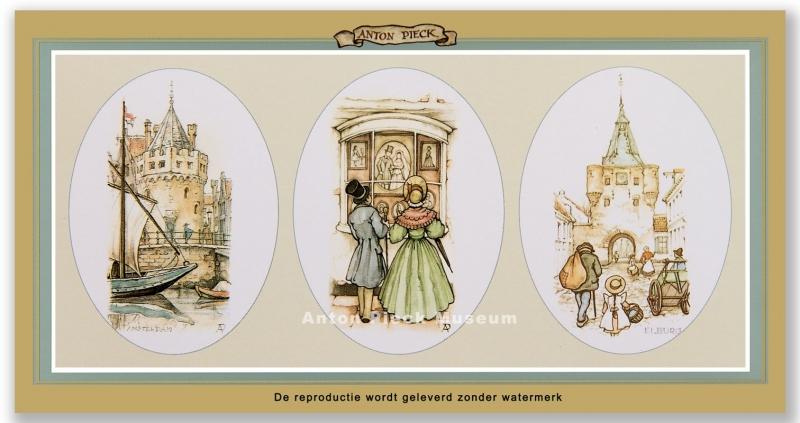 Amsterdam, Echtpaar, Elburg (Unieke Amsterdam collectie)